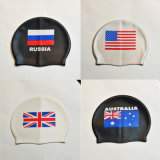 Flag Swimming Cap Silicone Waterproof Swim Caps Men & Women swimming Hat