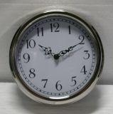 Chrom Quartz Wall Clock for Home Decoration