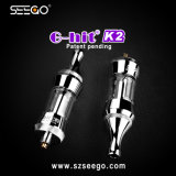 Seego G-Hit K2 Elegantly Futuristic Design Oil Vaporizer EGO Clearomizer