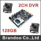 2 Channel Car DVR Main Board Supplied by China Factory Brandoo