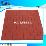 Heavy Duty 1m X1m X 20mm Rubber Mat