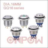 Onpow 16mm Metal Push Button Switch (GQ16 SERIES, CE, CCC, RoHS)