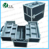 High Quality Double-Open Cosmetic Case (HX-P2519)