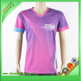 2016 New Design Custom Women Sublimation Print T-Shirts