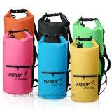 Outdoor Tarpaulin PVC Waterproof Dry Bag with Shoulder Strap