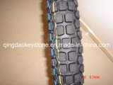 Motorcycle Tyre 3.00-18 with Cross Country Pattern