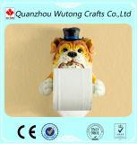 Resin Decoration Animal Statue Toilet Paper Holder