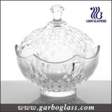 Glass Candy Jar, Storage Candy Pot (GB1826YM)