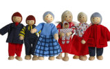 Wooden Dolls (SD_WT120)