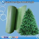 Laminated PVC Green Color Film for Christmas Tree Decorating