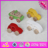 2016 Wholesale Baby Miniature Wooden Car, Cheap Kids Miniature Wooden Car, Funny Children Miniature Wooden Car W04A262
