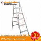 6 Steps Welded Walking Ladder Aluminum Ladder