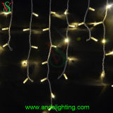 Outdoor Decoration Warmwhite LED Chrisrtmas Icicle Lights