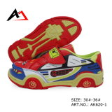Leisure Walking Shoes Lovely Cartoon Car Shape for Children (AK620-1)