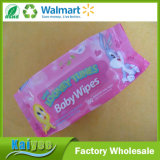 Wholesale Disposable Antibacterial Spunlace Nonwoven Baby Wipes China