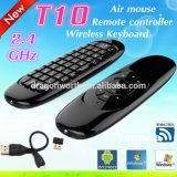 T10 C120 Air Mouse 2.4GHz Wireless Keyboard Remote Control