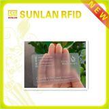 PVC Plastic Transparent Business Card for Staffs