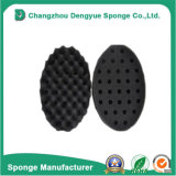 Double Sided Barber Hair Brush Sponge Dreads Locking Twist Coil Afro Curl Wave