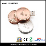 Coin Shape USB Flash Drive (USB-MT422)
