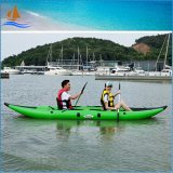 0.9mm PVC Material 2 Person Inflatable Fishing Kayak