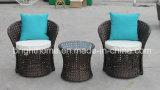 PE Rattan Wicker Furniture/Flower Weaving Leisure Set/Balcony Chair (BP-262)
