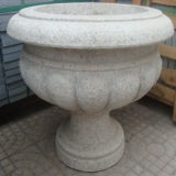 Ganite Stone Carving Decoration Garden Pot