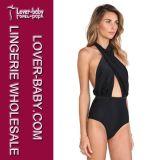Sexy Women Push up Beach Bikini Swimsuit (L32527-1)