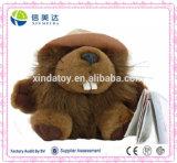 Realistic Sealife Plush Beaver Stuffed Animal