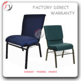 International Bookrack Design Curved Back Church Chair (JC-40)