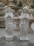 Natural White Marble Stone Carving Sculpture/Statue