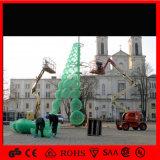 H: 5m Assembled Christmas Ball Tree Shopping Center Garden Decoration