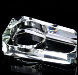 Popular Crystal Glass Cigarette Ashtray (KS13055)