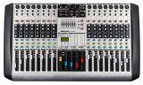 16 Channels Input LCD Display Professional Audio Mixer Hx 16