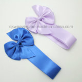 Pre-Tied Polyester Ribbon Bow with Elastic Loop