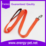 Waterproof Adjustable Plain Nylon Dog Lead (Padded Handle)