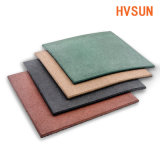 Soft Comfortable Rubber Floor Mats for Safety Outdoor Kids Playground Colorful Flooring Tiles