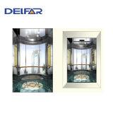 Round Glass Machine Roomless Panoramic Elevator