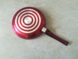 Kitchenware 24cm Metallic Paint Frying Pan with Ceramic Coating