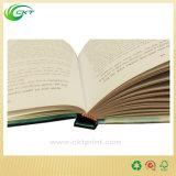 Hard Back Matte Paper Book Printing with Black Ink (CKT-NB-415)