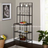 Baker′s Rack Metal Display Rack Kitchen Steel Rack with Ce (G-KB14)