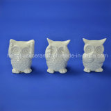 Ceramic Owl Design Samll Figurines for Home Decoration