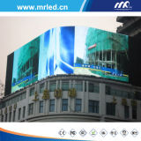 75sqm Arc P16 LED Display Outdoor for Advertising in Qingdao, China