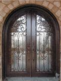 Sz-D30 American Standard Wrought Iron Entrance Door