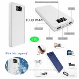 Promotional Wholesale 1000mAh Portable Power Bank with Bluetooth Earphone