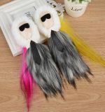 Cheap Vintage Fashion Faux Fur Ball Hair Accessories