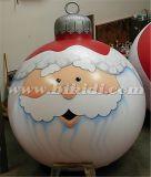 Christmas Decoration Inflatable Ball, Large SATA Claus Helium Balloon K7143