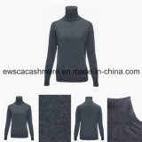 Women′s Long Sleeve Turtle Neck Top Grade Pure Cashmere Sweater