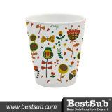 Bestsub 10oz Cone Shape Sublimation Ceramic Flowerpot (BHP10)