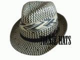 8 Bu Paper Straw Trilby Hat