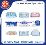 Highi Quality Non Alcohol Antibacterial Wet Wipes / Wet Tissue
